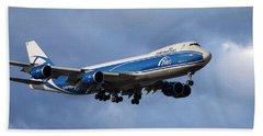 Air Bridge Cargo Airlines Boeing 747-8hv Beach Towel