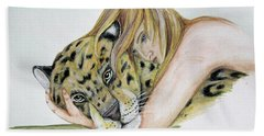 Anam Leopard Beach Towel