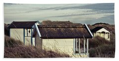 Beach Houses And Dunes Beach Towel
