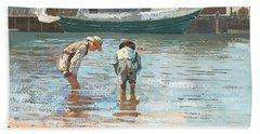 Boys Wading Beach Towel
