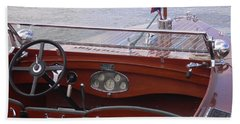 Chris Craft Runabout Beach Towel