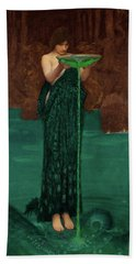 Circe Invidiosa Beach Towel