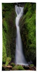 Beach Towel featuring the photograph Dollar Glen In Clackmannanshire by Jeremy Lavender Photography