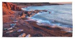 El Golfo - Lanzarote Beach Sheet by Joana Kruse