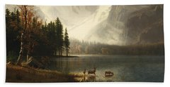 Estes Park, Colorado, Whyte's Lake Beach Towel