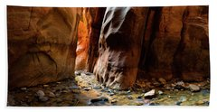 Kanarra Slot Canyon Beach Towel