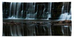 Kansas Waterfall Beach Towel