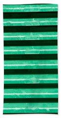 Metal Bars Beach Towel