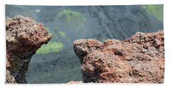 Mount Etna Beach Towel