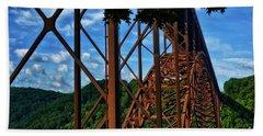 New River Gorge Bridge Beach Sheet
