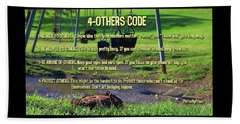 4-others Code Beach Towel