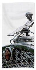 Packard Hood Ornament Beach Towel