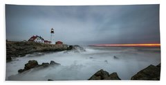 Portland Headlight Beach Towel