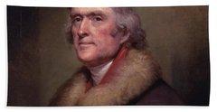 President Thomas Jefferson Beach Towel