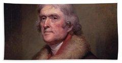 President Thomas Jefferson Beach Sheet by War Is Hell Store