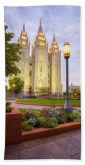 Salt Lake Temple Beach Towel