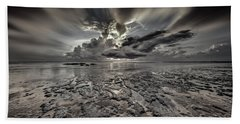 Seascape Of Hilton Head Island Beach Sheet