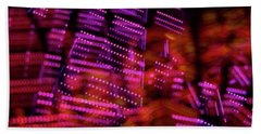 Singapore Night Urban City Light - Series - Your Singapore Beach Towel