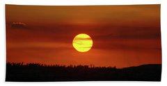 Beach Sheet featuring the photograph 4- Sunset by Joseph Keane