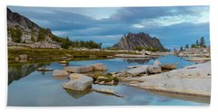 Beach Towel featuring the photograph The Enchantments by Evgeny Vasenev