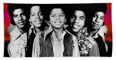 The Jackson 5 Collection Beach Towel
