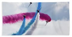 The Red Arrows Beach Towel