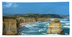 The Twelve Apostles Beach Towel