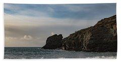 Beach Sheet featuring the photograph Trevellas Cove Cornwall by Brian Roscorla
