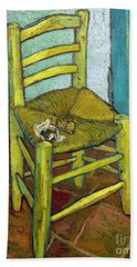 Van Gogh's Chair Beach Towel