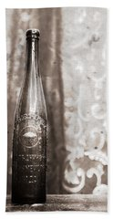 Vintage Beer Bottle Beach Sheet
