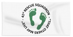 41st Rescue Squadron Beach Towel