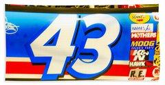 42 Race Car Beach Towel