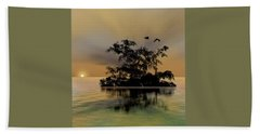 Beach Sheet featuring the photograph 4374 by Peter Holme III