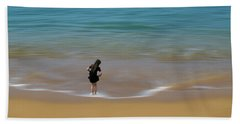 Beach Sheet featuring the photograph 4391 by Peter Holme III
