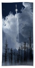 Beach Sheet featuring the photograph 4404 by Peter Holme III