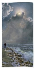 Beach Towel featuring the photograph 4405 by Peter Holme III