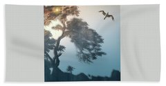 Beach Towel featuring the photograph 4408 by Peter Holme III