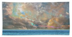 Beach Sheet featuring the photograph 4410 by Peter Holme III