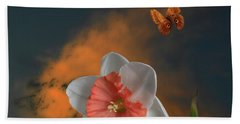 Beach Sheet featuring the photograph 4413 by Peter Holme III