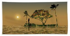 Beach Sheet featuring the photograph 4423 by Peter Holme III