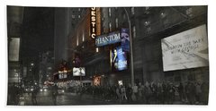 44th Street Nyc Beach Towel by Dyle Warren