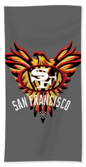 49er Phoenix  Beach Towel