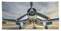4fu Corsair At Hollister Beach Sheet