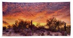 Arizona Sunrise Beach Towel