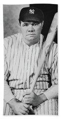 Babe Ruth Beach Towel