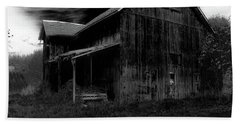 Barns In Pacific Northwest Beach Towel