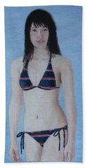 By The Lake Beach Towel