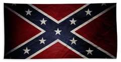 Confederate Flag 8 Beach Towel