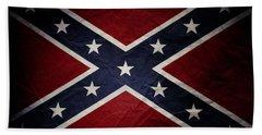 Confederate Flag 8 Beach Sheet