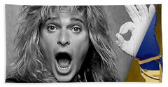David Lee Roth Collection Beach Towel by Marvin Blaine